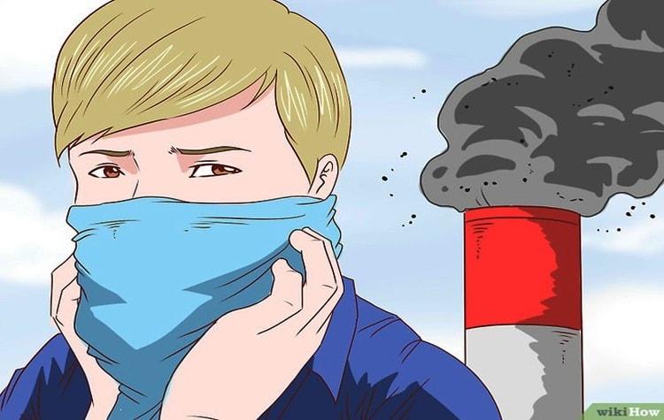 penyebab paru paru kotor