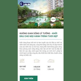 theme blog bán hàng bất động sản responsive