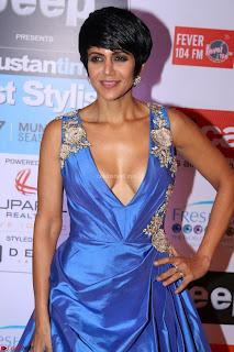 Red Carpet of Most Stylish Awards 2017 ~ Mandira Bedi (2).JPG