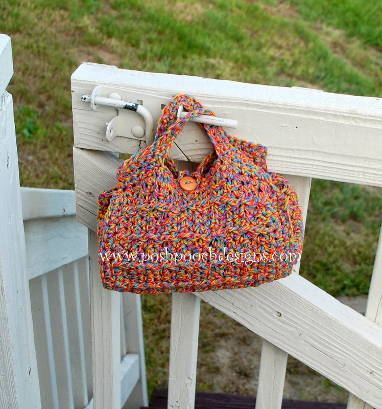 Posh Pooch Designs Dog Clothes Cylinder Cosmetic Bag Crochet Pattern