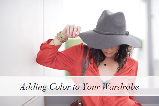 Adding Color to Your Wardrobe