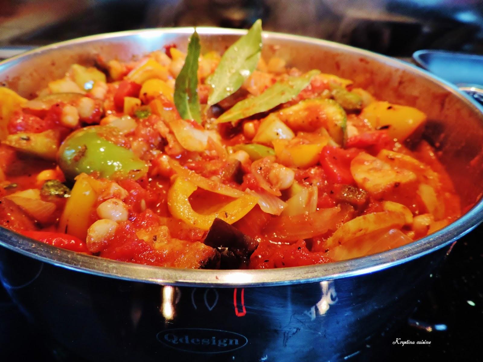 Krystina cuisine ratatouille l 39 orientale for Cuisine orientale