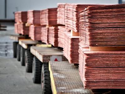 Aumento de las importaciones por parte de China produjeron un alza en el precio del cobre