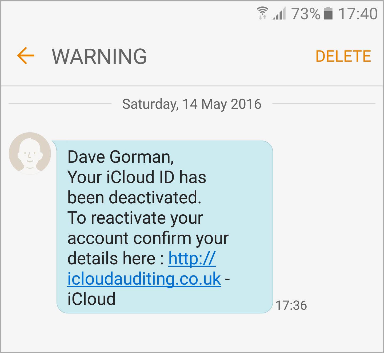 Dave Gorman: Phishing, Smishing