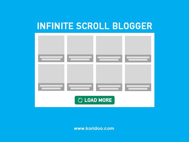 Cara Membuat Tombol Load More di Blogger