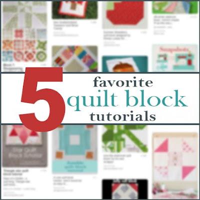 Favorite quilt block tutorials