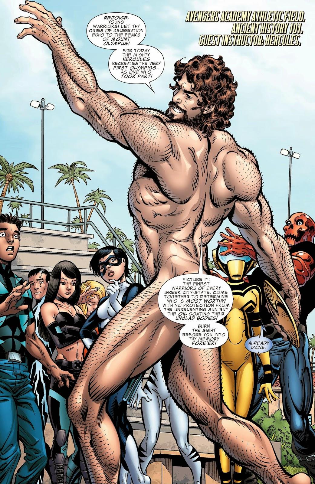 Nude Superheroes 88