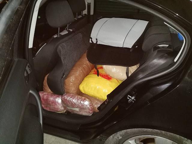 Εντοπίστηκε κλεμμένο Ι.Χ.Ε. αυτοκίνητο στη Νέα Σελεύκεια Θεσπρωτίας, έμφορτο με 144 κιλά κάνναβης (+ΦΩΤΟ)