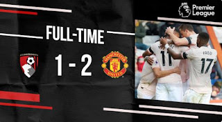 AFC Bournemouth vs Manchester United 1-2 Video Gol & Highlights