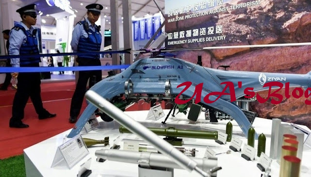 China Unleashes Drones Fitted With AK-47 Rifles