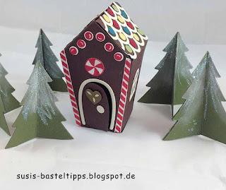 Stampin' Up! Miniatur Märchenland: Hänsel und Gretel, Weihnachtsmann am Nordpol und Rentierschlitten