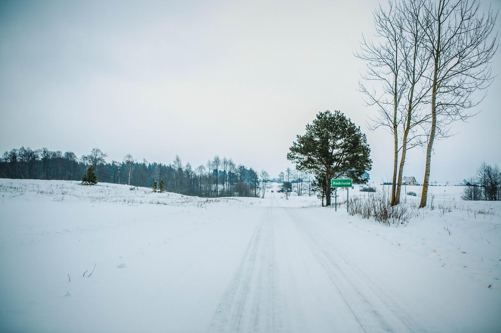 My się zimy nie boimy -  Radziucie, polski biegun zimna:)