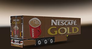 Nescafe Gold skin for Refrigerated Trailer