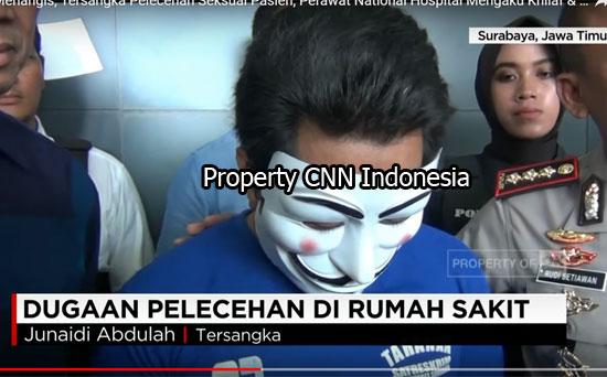 MENYESAL : Salah satu video di You Tube memperlihatkan tersangka dengan menangis mengakui penyesalannya.  Viideo courtesy Youtube/CNN Indonesia