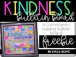 Encourage a classroom community built on kindness with this FREE interactive bulletin board!