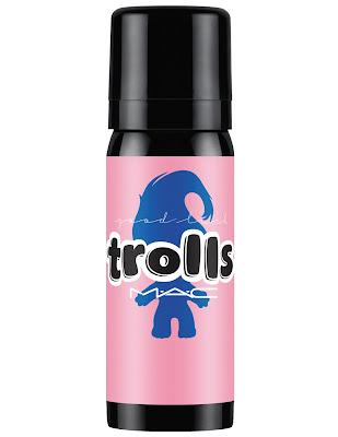 MAC Good Trolls chroma glaze good luck locks