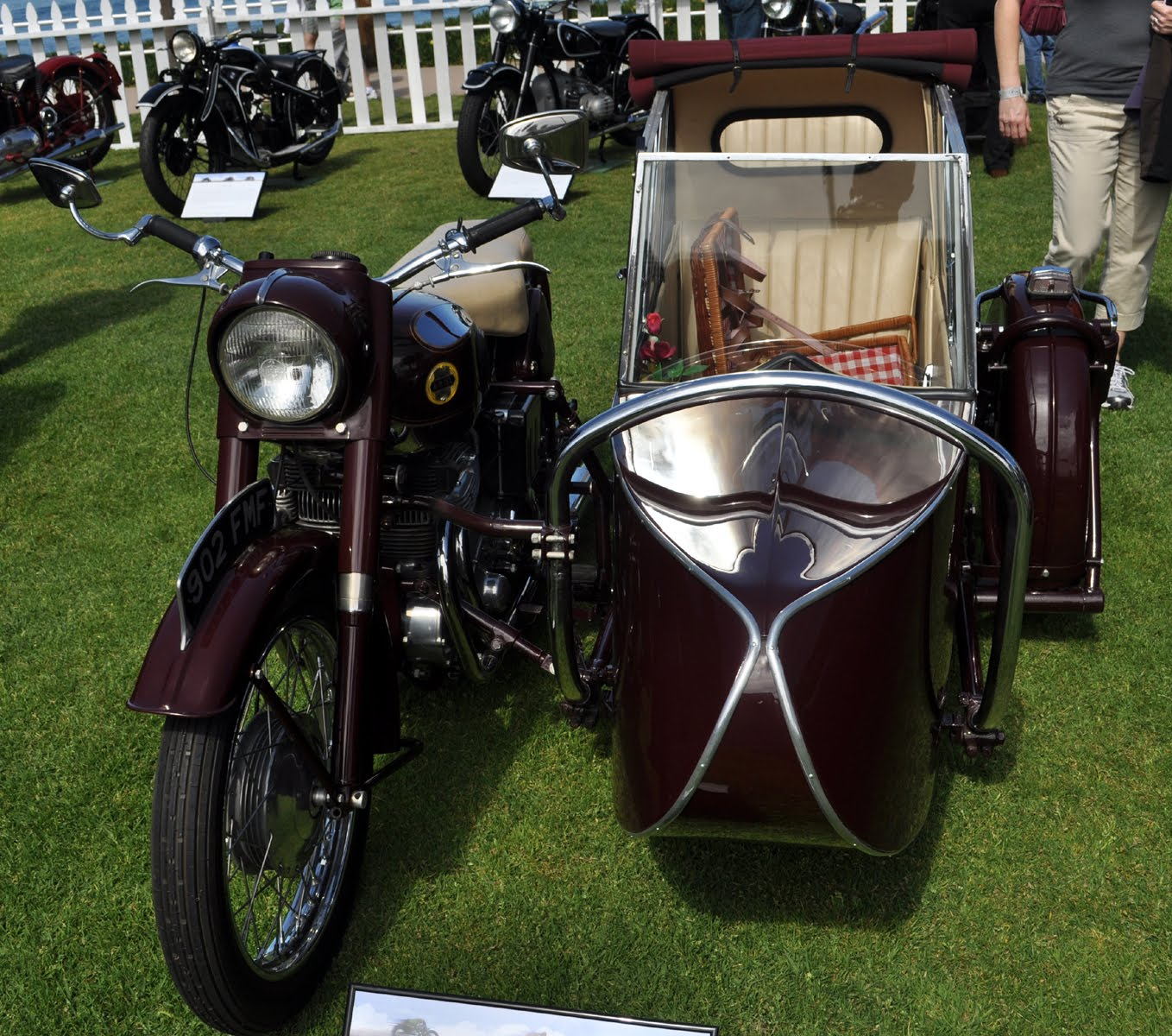 Vintage Motorcycles At The Lajolla Motor Car Classic Concours De Sepaket Alat Poles Polisher Pad Wol Wool Busa Spong Spon Adapter 7 Inc Pcs Elegance