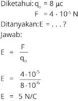 Jawaban soal fisika tentang listrik statis nomor 4
