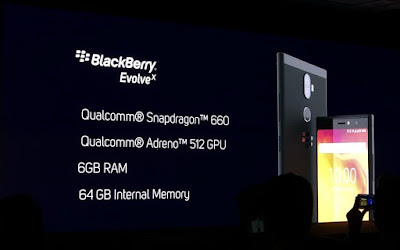 BlackBerry Evolve dan Evolve X Hadir di India dengan Baterai 4000 mAh dan Kamera Ganda
