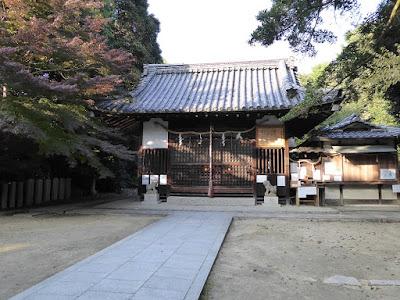 交野天神社 拝殿