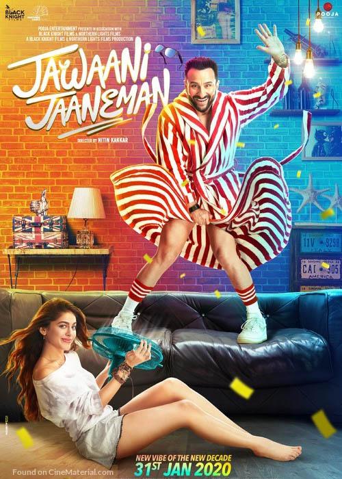 Jawaani Jaaneman–Official Trailer (2020) Hindi Movie Ft.Saif Ali Khan & Tabu 1080p HDRip 30MB