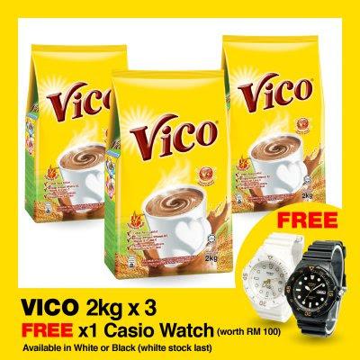 11street Malaysia VICO POUCH FREE Original Casio Watch