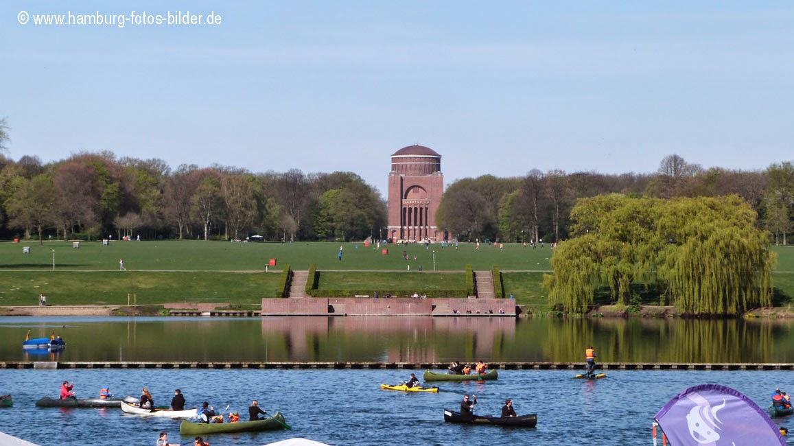 Globeboot Stadtpark Hamburg