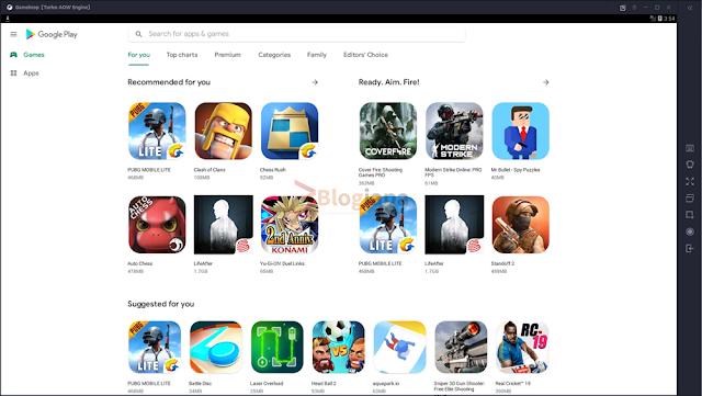 Successfully install Google Play on Gameloop emulator