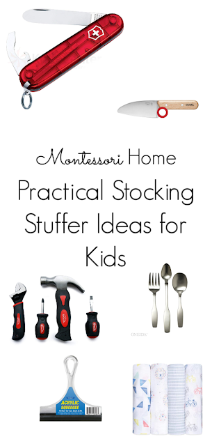 Practical stocking stuffers for Montessori families