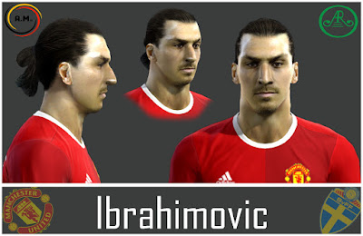 Pes 13 Zlatan Ibrahimović face by Alireza11(AR Design Group)