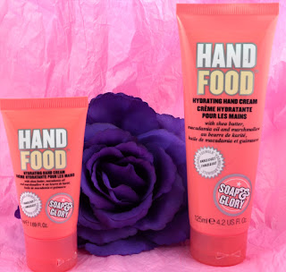 Hand food - Soap & glory - Boots - Hand cream - review - swatch