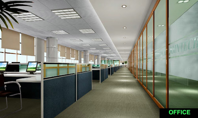 Looking for office lighting fixtures that maximize the light efficiency of the bulbs 31