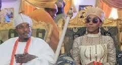 Nigerian King Oba Adewale Akanbi Abandons Wife & Kids In Canada, Returns With Jamaican Girlfriend