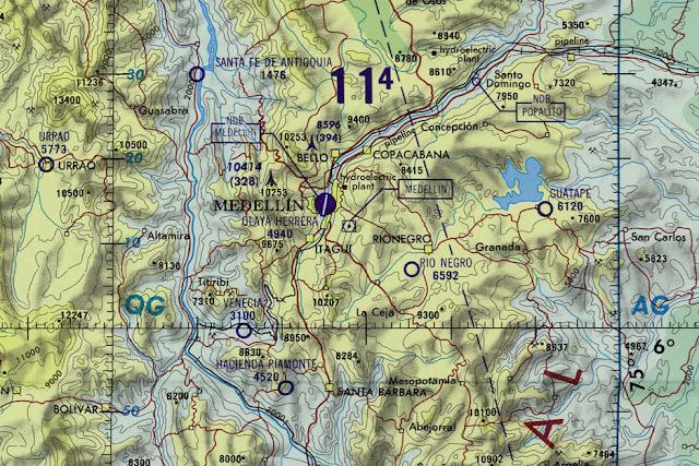 Colombia U S Defense Mapping Agency Aeroe Center Compiled 1966 Http Www Lib Utexas Edu Maps Onc Txu Pclmaps Oclc 8322829 L 26 Jpg