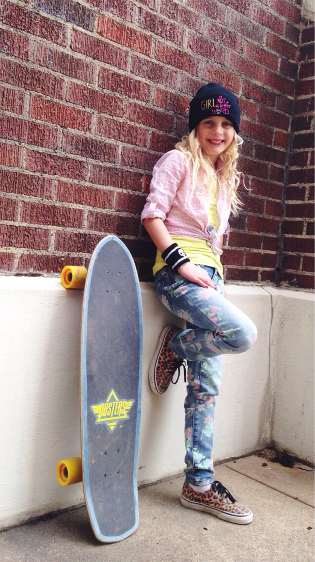 Girl is NOT a 4 Letter Word: Skate x Style Icon. Kendra.