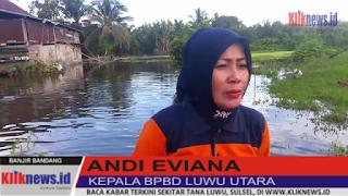 Banjir Makin Meluas,BPBD Harap Bantuan Pusat