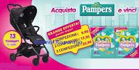Logo Pampers ''Acquista e vinci 13 passeggini supercompatti'': scopri l'anticipazione!