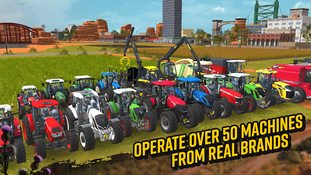 Tampilan Game Farming Simulator 18 Android
