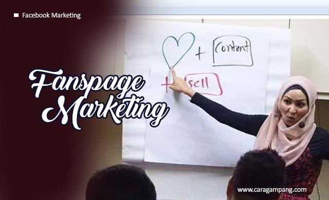 Fanspage Marketing : Modal Sosial Mendongkrak Penjualan Online Menggunakan Fanspage