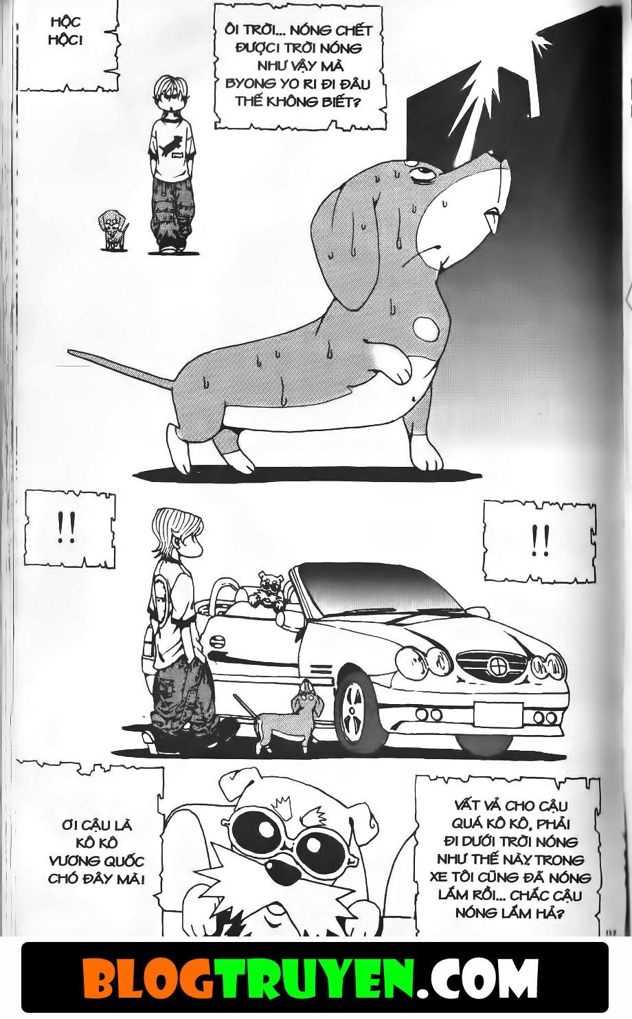 Bitagi - Anh chàng ngổ ngáo chap 182 trang 20