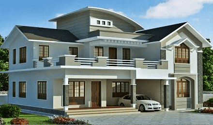 design rumah mewah minimalis 2 lantai