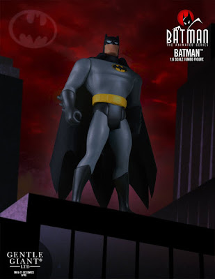 "Batman: The Animated Series 12"" Jumbo Vintage Action Figure by DC Comics x Gentle Giant"