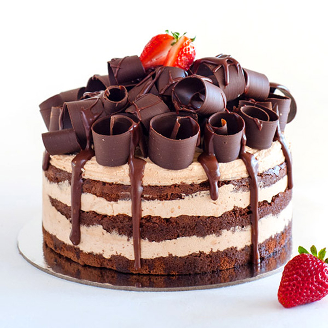 dark chocolate truffle wedding cake chocolate truffle layer cake cake magazine 13336