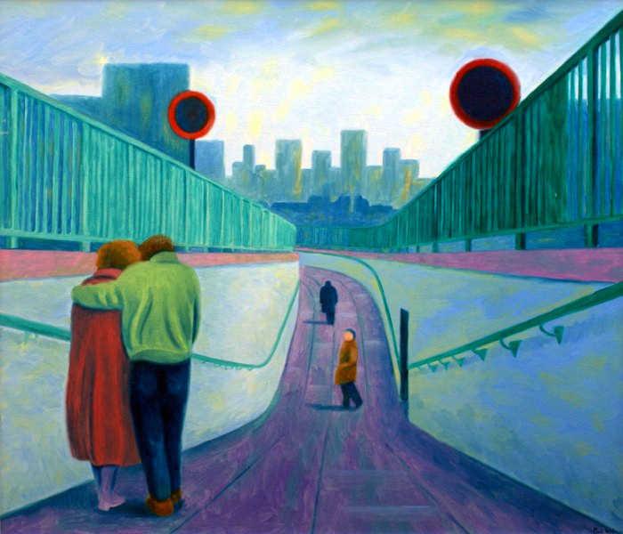 Талантливый британский художник. Paul Wilson 3