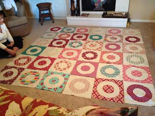 Circle Wedding Quilt