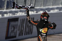 Defending race champion - Martin Truex Jr., - #NASCAR