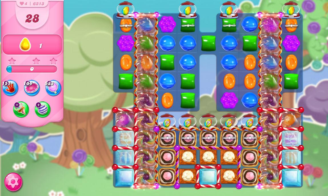 Candy Crush Saga level 6313