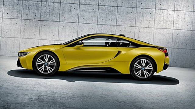 2017 bmw i8 protonic frozen yellow edition auto bmw review. Black Bedroom Furniture Sets. Home Design Ideas