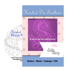 How to Free Motion Feathers DVD with Sally Terry Professional Machine Quilting and Classes