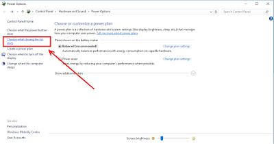 Cara Agar Laptop Tetap Menyala Saat Ditutup Pada Windows